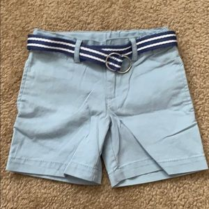 Polo Ralph Lauren Belted Stretch Short - 3T